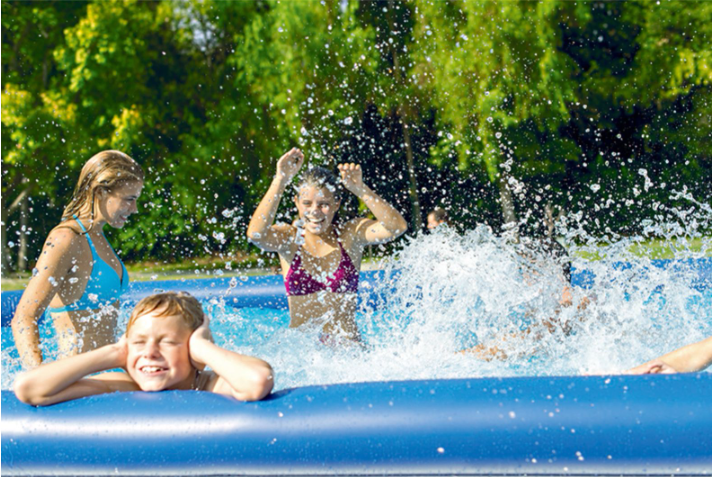 Cool Summer Updated Easy Set Pool Set with Air Pump 12 ft x 36 in