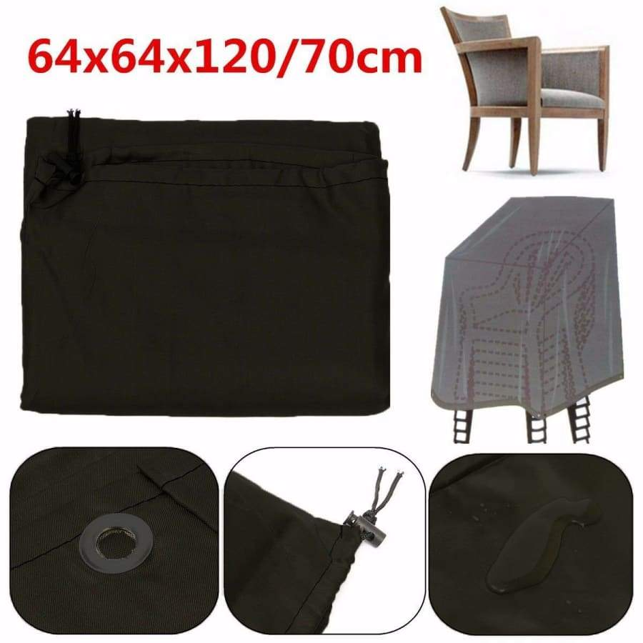 Waterproof Outdoor Garden Furniture Covers Rain Snow Sunscreen Chair Covers for Chair Dust Proof Cover