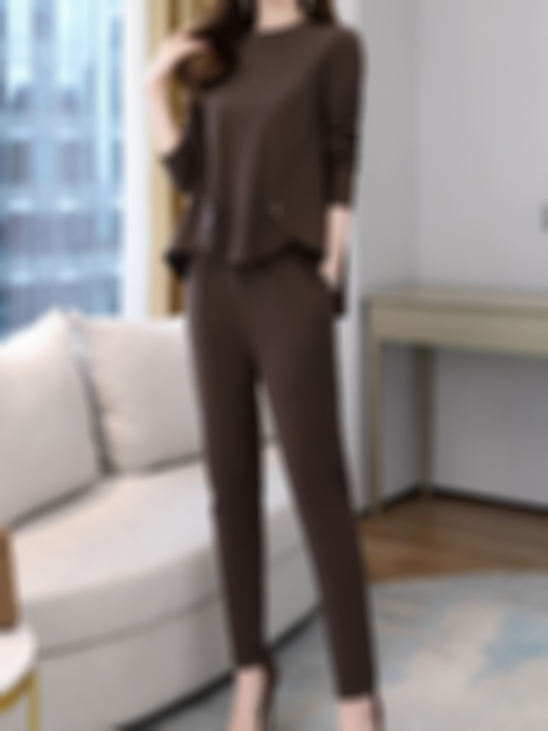 Fashionable Temperament Was Thin Two-piece Suit