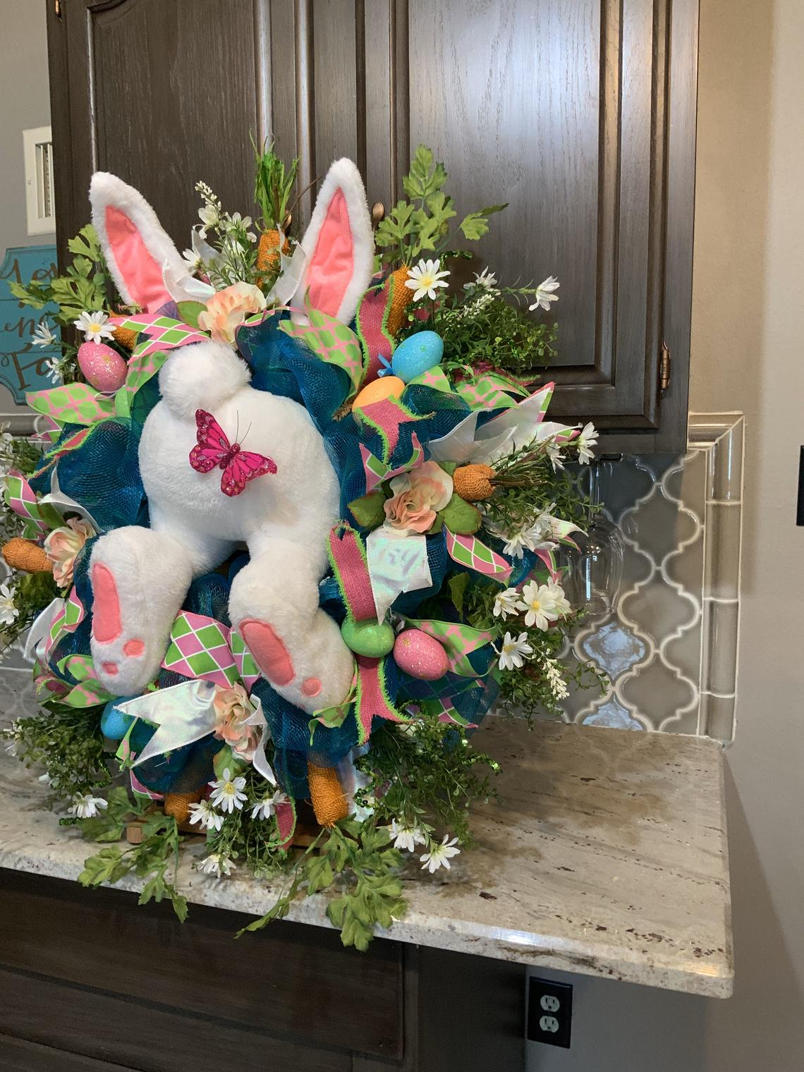 🔥 Easter Pre-Sale🔥50% OFF 🔥Easter Bunny Wreath, Easter Wreath, Easter Decorations, Easter Decor, Easter Swags, Door Decor