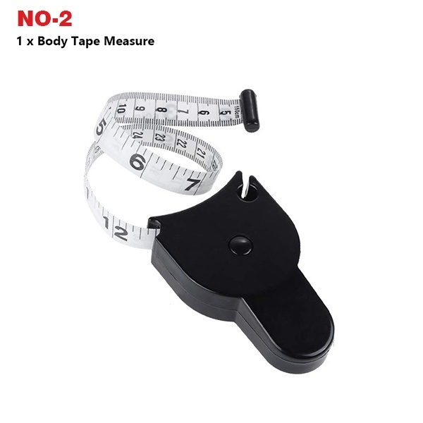 Personal Body Fat Caliper and Tape Measure for Lose Body Weight Test Body Fat Monitor