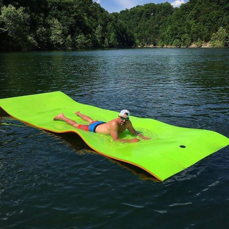🔥CLEARANCE SALE 50% OFF— Floating Water Pad Mat,Compounded Roll-UpFloating Island