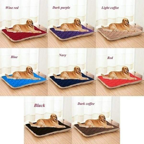 8 Colors Large Size 2 Sides Pet Dog Bed Sofa Kennel Soft Warm Dog Cat Mat Dogs Cat Cushion Mat Pet Supplies