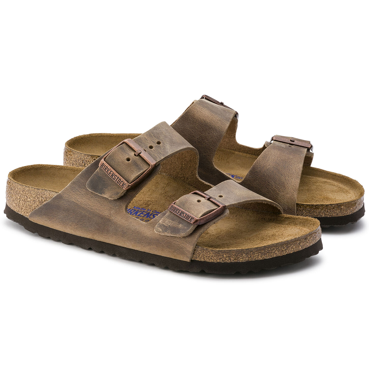 Arizona Soft Footbed Oil Leather Sandal (Buy 2 Get 10% OFF & Free Shipping)