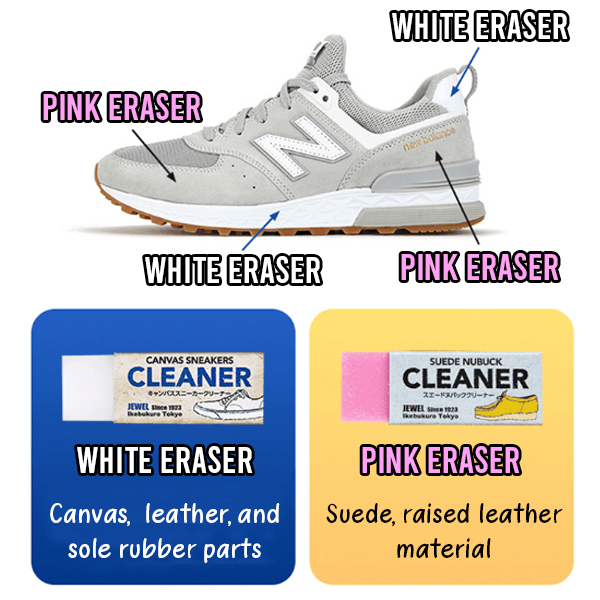 Magic Erasers™ - Magical Shoe Cleaning Eraser