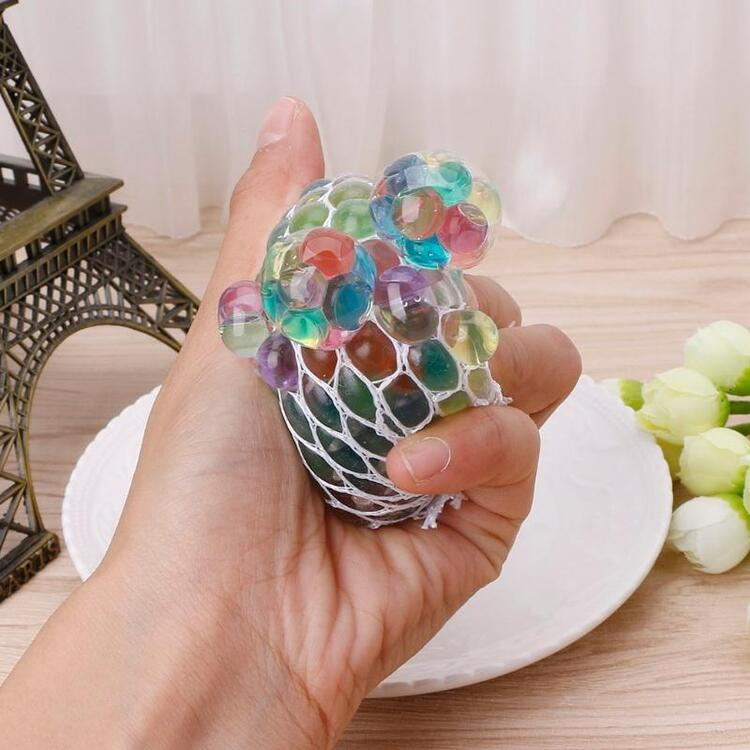 🎄Christmas Hot Sales🎅Psychedelic Rainbow Stress Reliever Ball-🔥BUY 3 GET 2 FREE