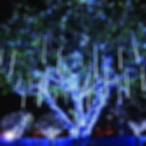 Snow Fall LED Lights-5 PCS Perfect For Tree Decorating