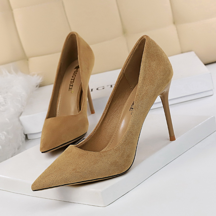 Women Pumps Fashion 9cm High Heels For Women Shoes Casual Pointed Toe Women Heels Chaussures Femme Stiletto Ladies