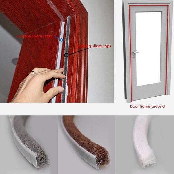 5M Gadgets Door and window Weatherstrip Self Adhesive Seal Strip Tape Home Protector