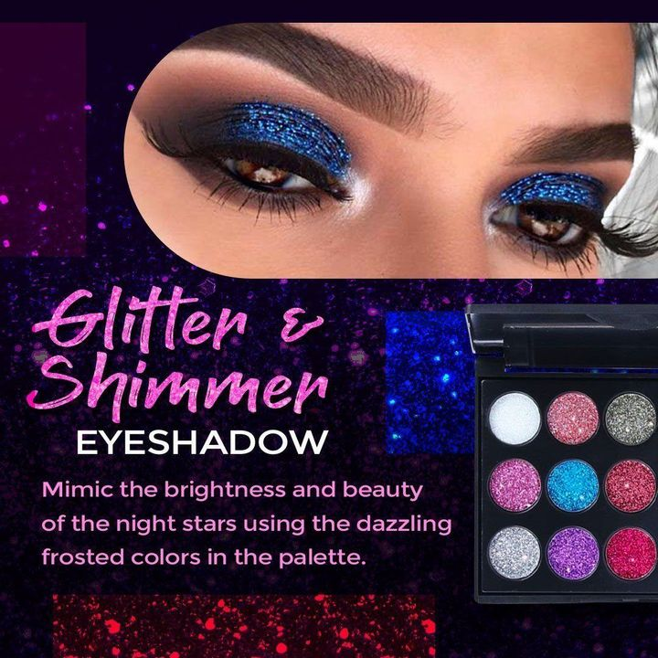 Buy 2 Get 1 Free (10%OFF+Free Shipping) - 15 Color Diamond Shiny Eyeshadow Palette