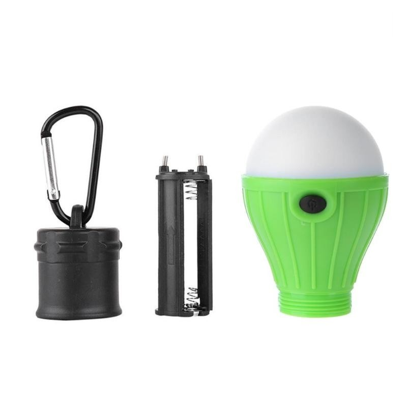 Portable LED Tent Hanging Lamp 3 Modes Outdoor SOS Emergency Carabiner Bulb Light Emergency Light Hiking Lantern Energy Saving Lamp