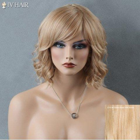 2020 Fashion Ombre Blonde Wigs Ash Blonde Synthetic Lace Wig