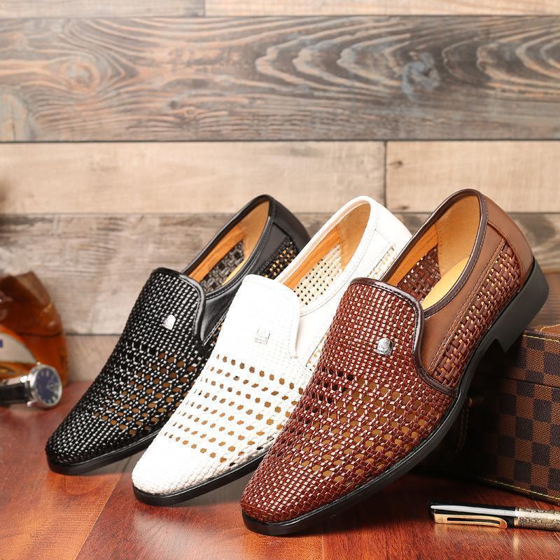High Quality Premium Leather Slip On Shoes 2019!