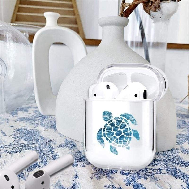 Cute Unicorn Animal Clear Smooth Pc Shockproof No Dust Cover Case For Apple Airpods 2 &1(Just Case,No Airpods)