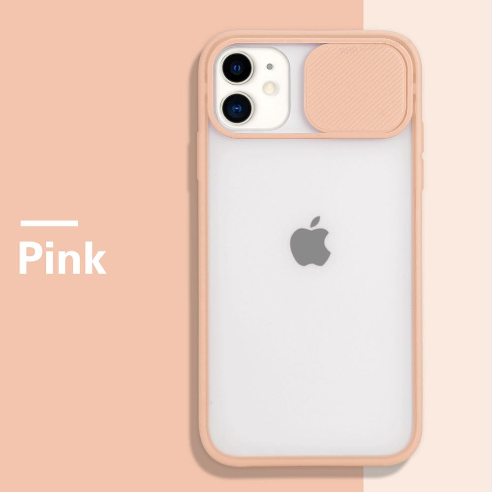 Camera Lens Protection Phone Case on For iPhone 11 Pro Max 8 7 6 6s Plus Xr Xs Max XR Xs SE 2020 Color Candy Soft Back Cover Gift