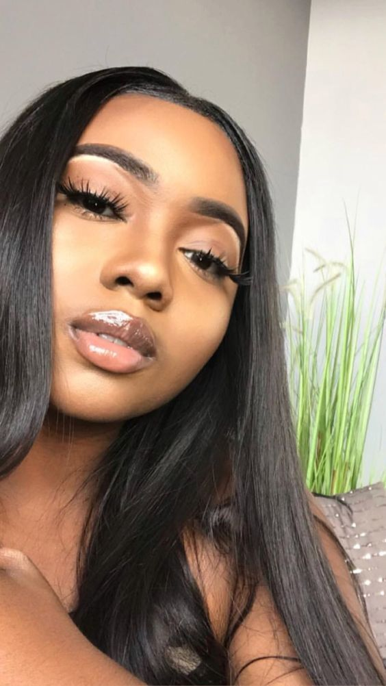 2020 New Straight Wigs Black Long Hair Mens Lace Front Wigs African American Pixie Wigs For Black Hair