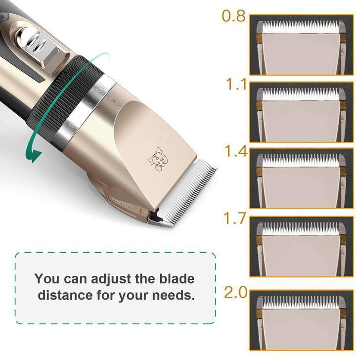 Buy one get nine countdown day!! Low noise pet hair clipper (70%OFF Today)