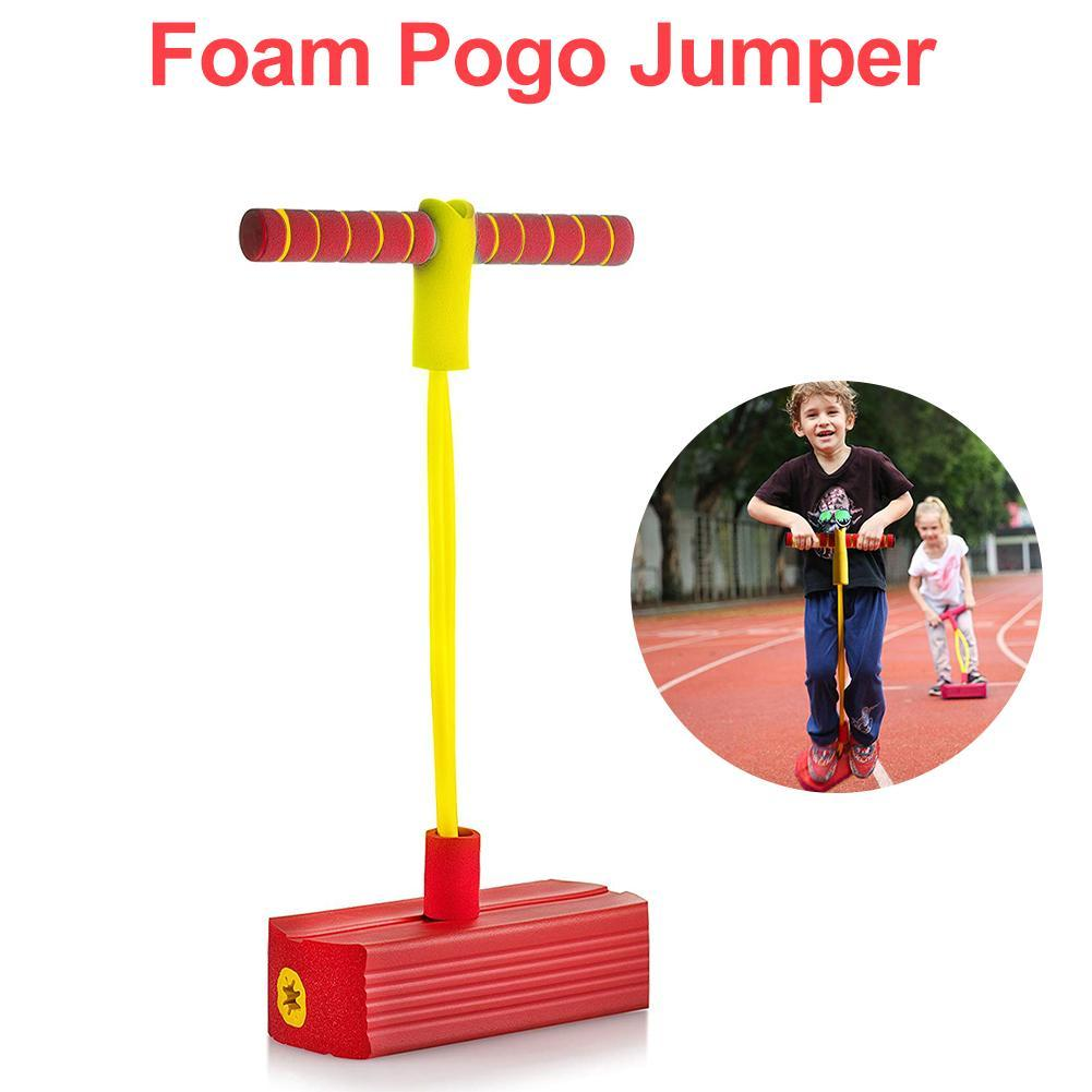 Foam Pogo Jumper-Foam and Rubber Pogo Stick for Kids and Adults - Durable, Lightweight, and Easy to Store for Indoor and Outdoor Use