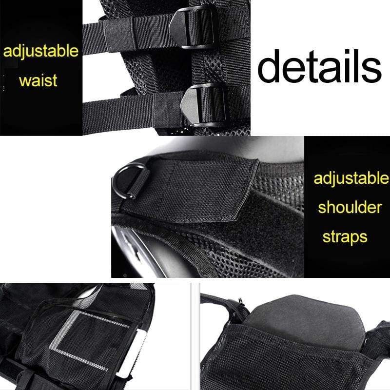 Men's Outdoor Tactical Vest Multi-pocket SWAT Army CS Hunting Vest Camping Hiking Accessories
