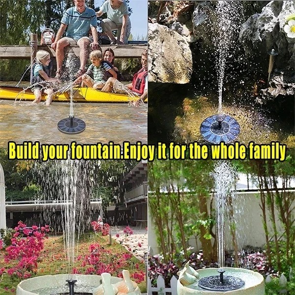 ⛄Early Spring Hot Sale 50% OFF⛄ Solar Powered Bionic Fountain(Buy 2 Free Shipping)