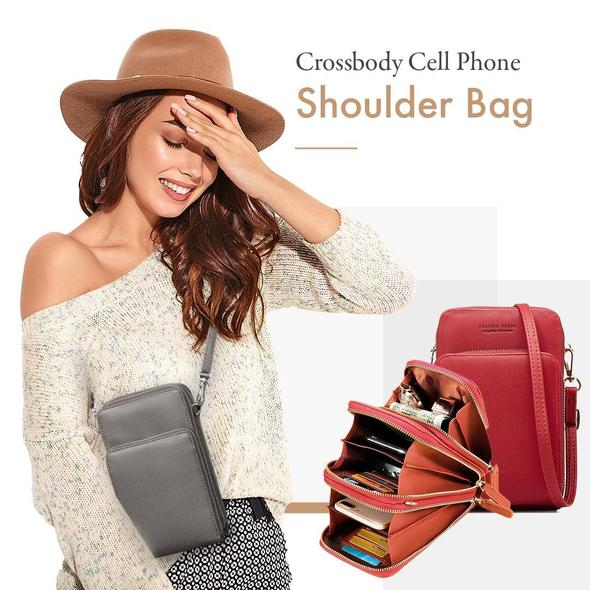 (Last day promotion 50% off!) Crossbody Cell Phone Shoulder Bag
