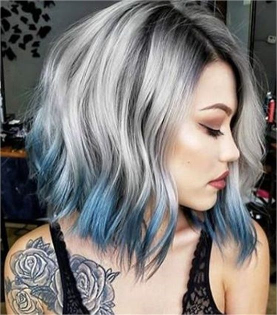 2020 New Gray Hair Wigs For African American Women Pink Lace Wig Invisible Lace Front Wigs Gray Is The New Blonde Burgundy Bob Wig Denki Wig