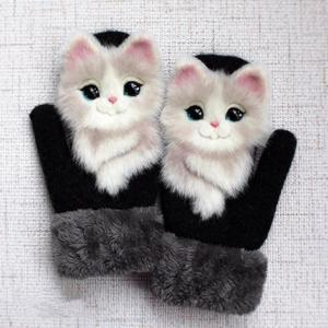 (Christmas present)Animal Mittens - A Mother To Daughter Gift (A pair is only $9.99)