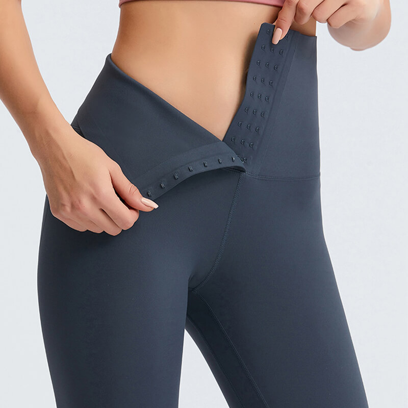 Tummy Control Invisible Breasted Hip Up Leggings