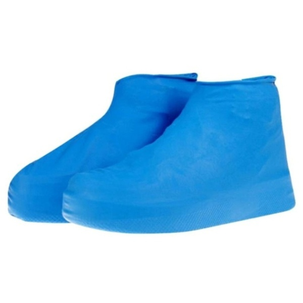 1 Pairs Fashion Outdoor Waterproof Rubber Rain Shoe Covers Over Shoes Boot Covers