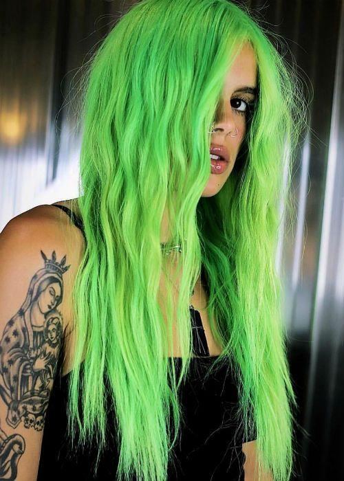 Green Wigs Lace Front Wigs Virgin Hair For Black Women Medium Brown Lace Front Wigs Cruella Wig Ombre Wigs Red Cosplay Wig Free Shipping