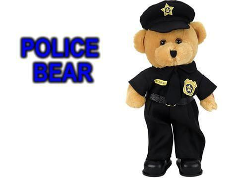 "Christmas Special - Police Officer Bear dances while singing, ""Bad Boys"".℗"