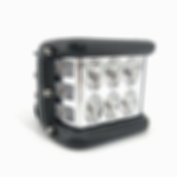 3.75'' Dual Side Shooter Dual Color Strobe Cree Pods