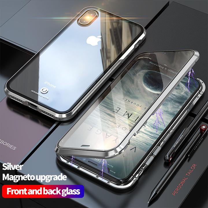 👉COD👈Magnetic absorption transparent mobile phone case