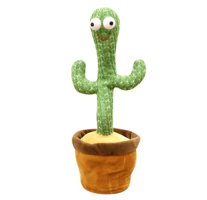 Singing And Dancing Cactus Cactus Plush Toys, Electronic Shake Dancing Cactus Can Sing Three Songs Funny Early Childhood Education Toys