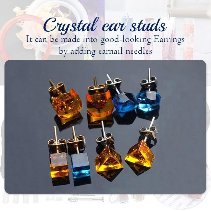 50%OFF Today-DIY Crystal Glue Jewelry