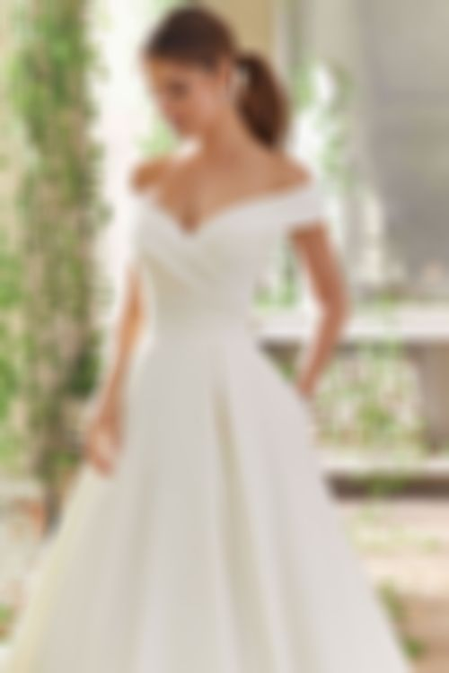 2020 New Wedding Dress Fashion Dress simple wedding dresses with sleeves plus size evening suits ladies