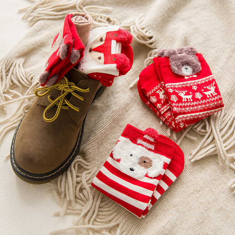 (🎅EARLY XMAS SALE - 50% OFF) Winter Christmas Socks, Buy 8 Free Shipping