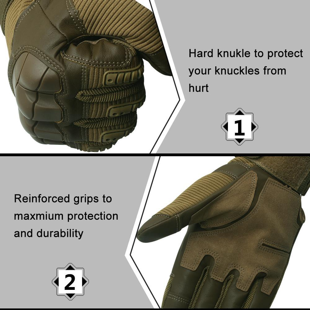 (Black Friday Sale-50% OFF)-Military Full Finger Tactical Gloves-BUY 2 FREE SHIPPING