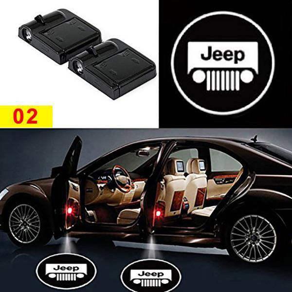 【Factory Outlet 49% OFF Today】Universal Wireless Car Door LED Projector Light(1 pair)