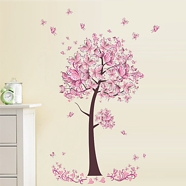 Decorative Wall Stickers - Plane Wall Stickers / Animal Wall Stickers Still Life / Floral / Botanical Indoor / Kids Room / Washable / Removable