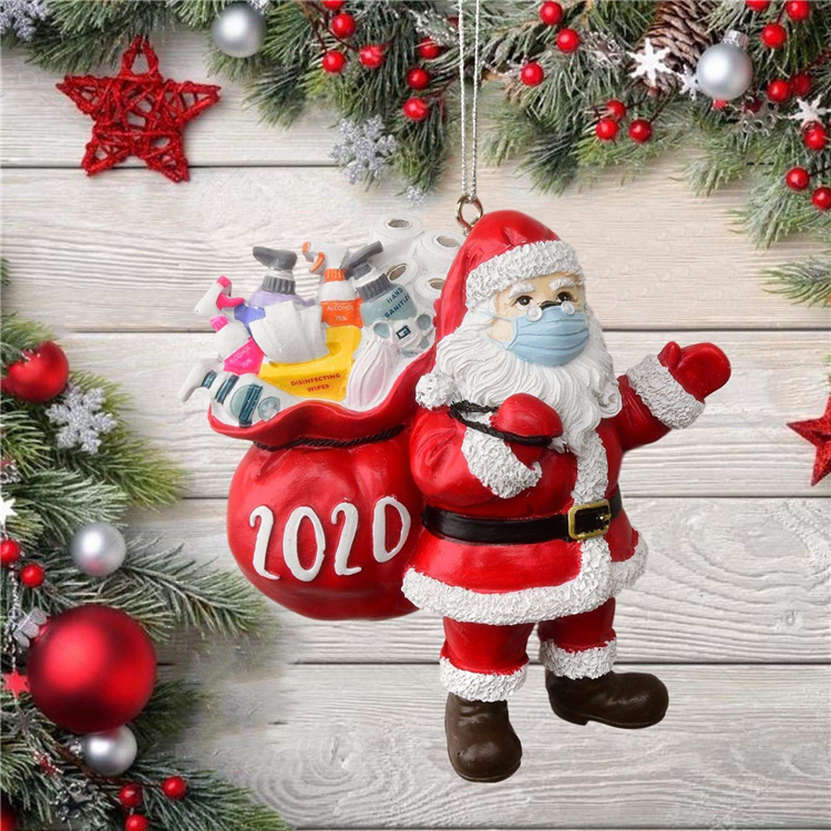 🎄Christmas Hot Sales🎅Santa in 2020 Ornament🎅