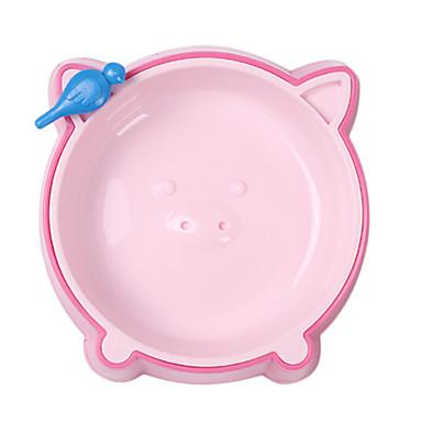 Pig Pattern Food Bowl for Pets Dogs