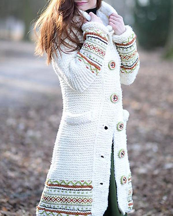 Cute knitted sweater