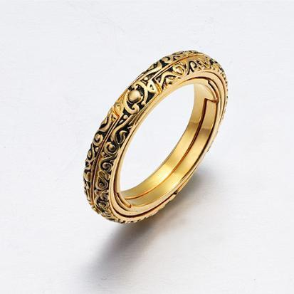 *Buy 2 Free Shipping* Astronomical ring-Closing is love, Opening is the world!