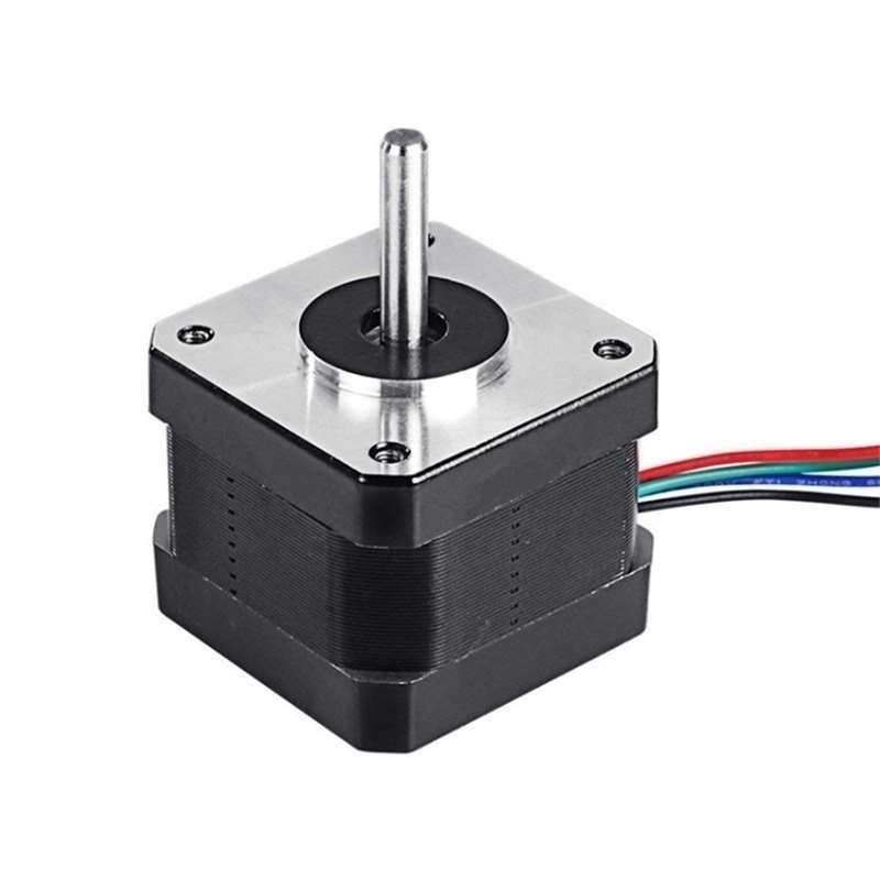 3/5pcs/lot Nema 17 Stepper Motor 3D Printer Degree Step Motor Smooth Stepping Motor 4-Lead with 1m Cable and Connector for J-head bowden reprap 3D Printer