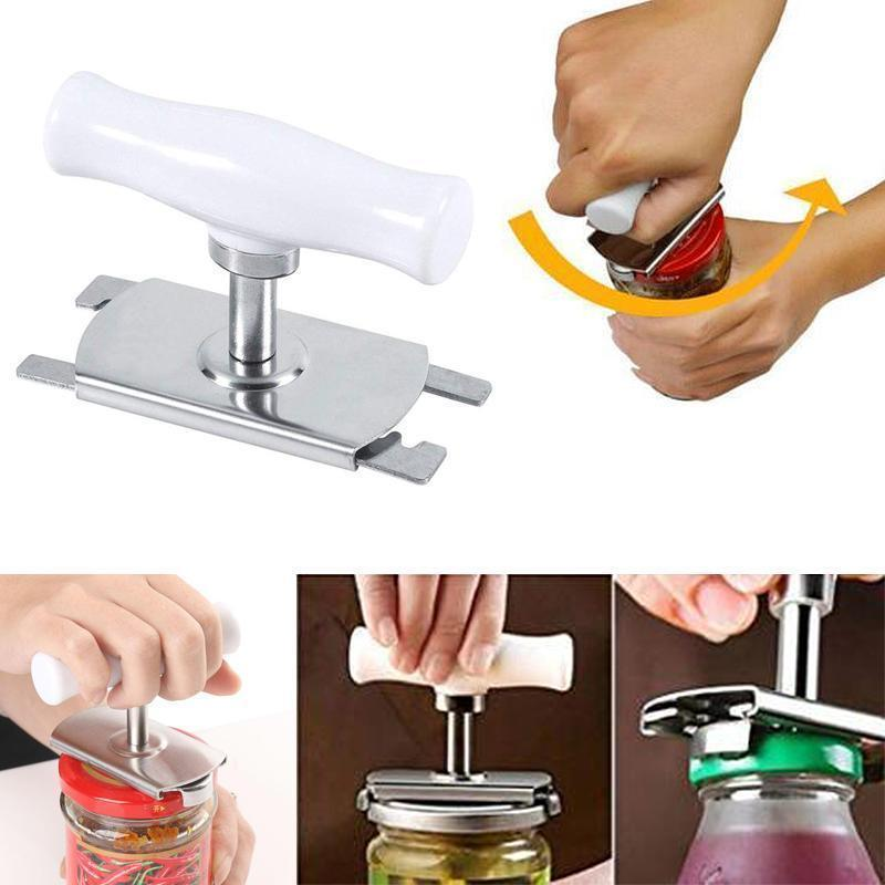 Pre Sale>>>Size Adjustable Stainless Steel Can Opener Bottle Tin Cap