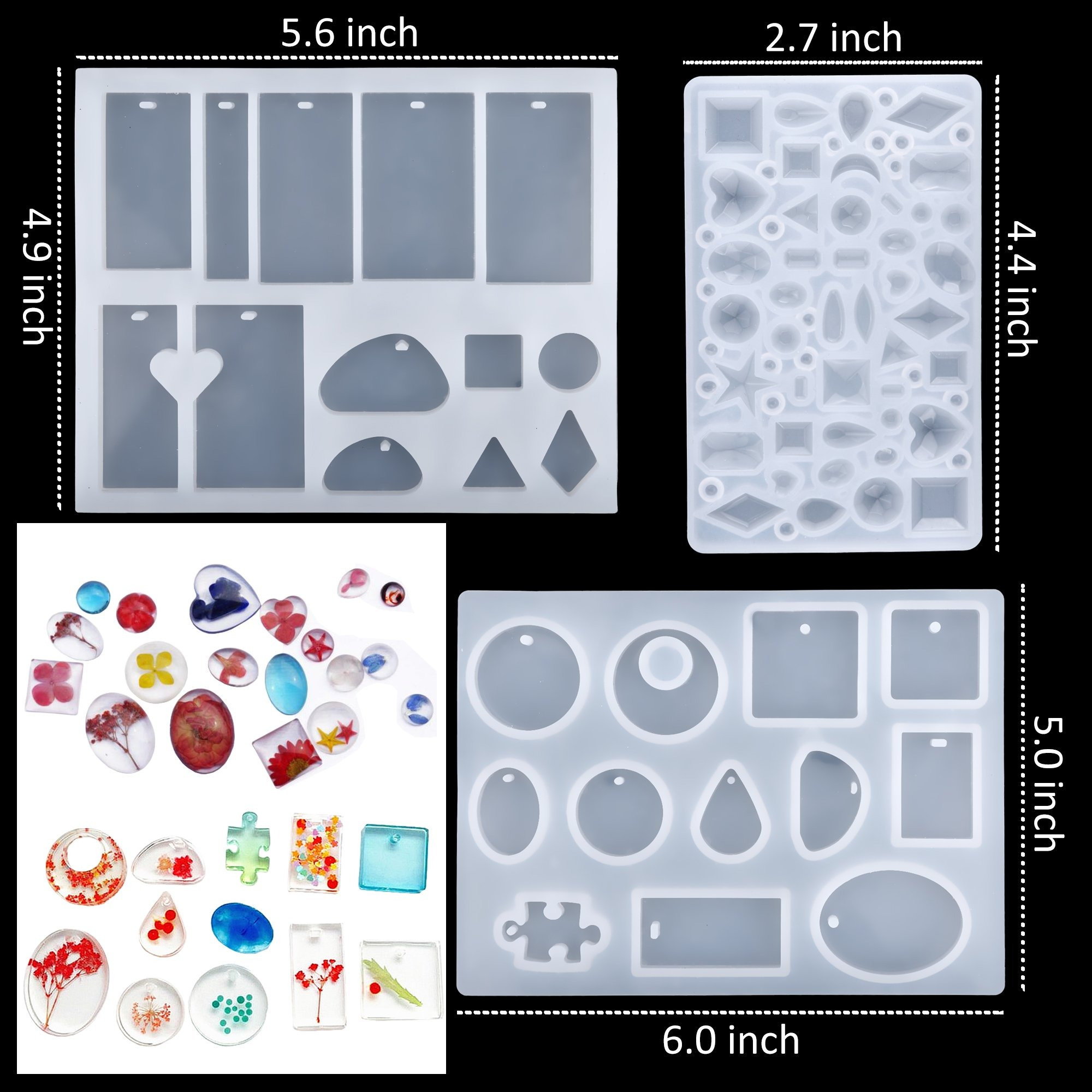 Limited Sale 50% OFF - DIY Crystal Glue Jewelry Mold Kit