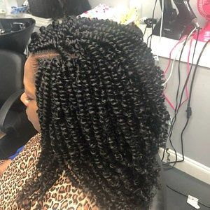 Best Braiding Hairstyles African American Hair 715 Store Deep Curly Hair Bundles Lace Front Box Braids Afro Clip In Hair Extensions