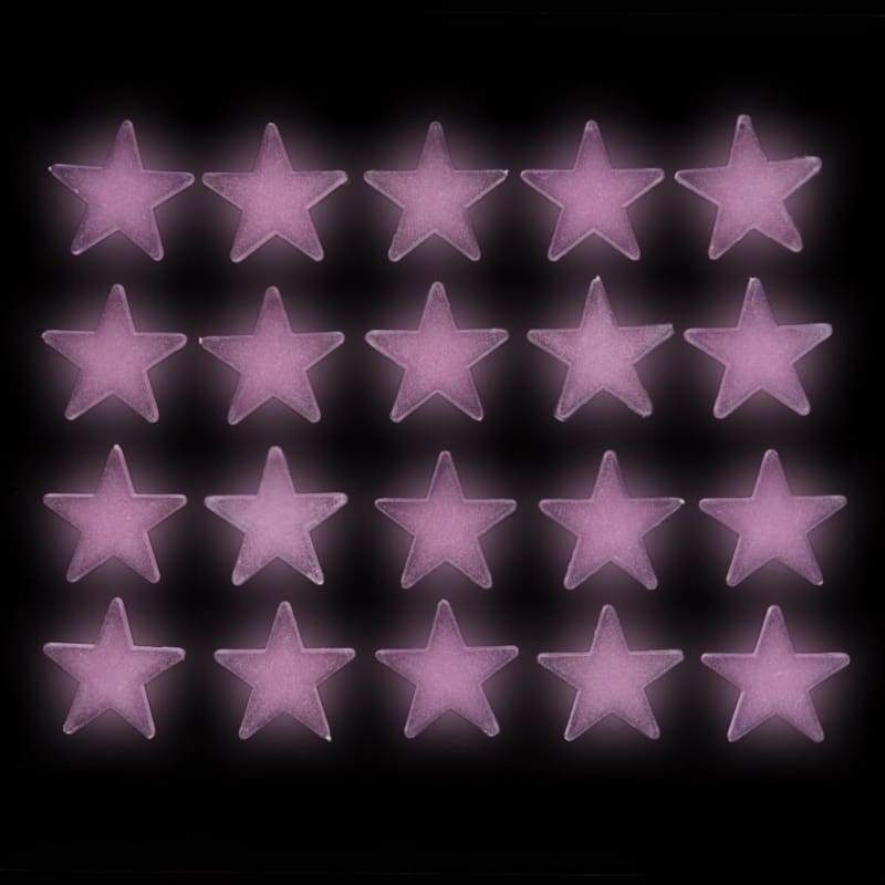 Mother's Day Gift Aihome 100PCS Home Fluorescent Glow in The Dark Stars Wall Stickers 3D Decal Wallpaper for Kids Baby Bedrooms