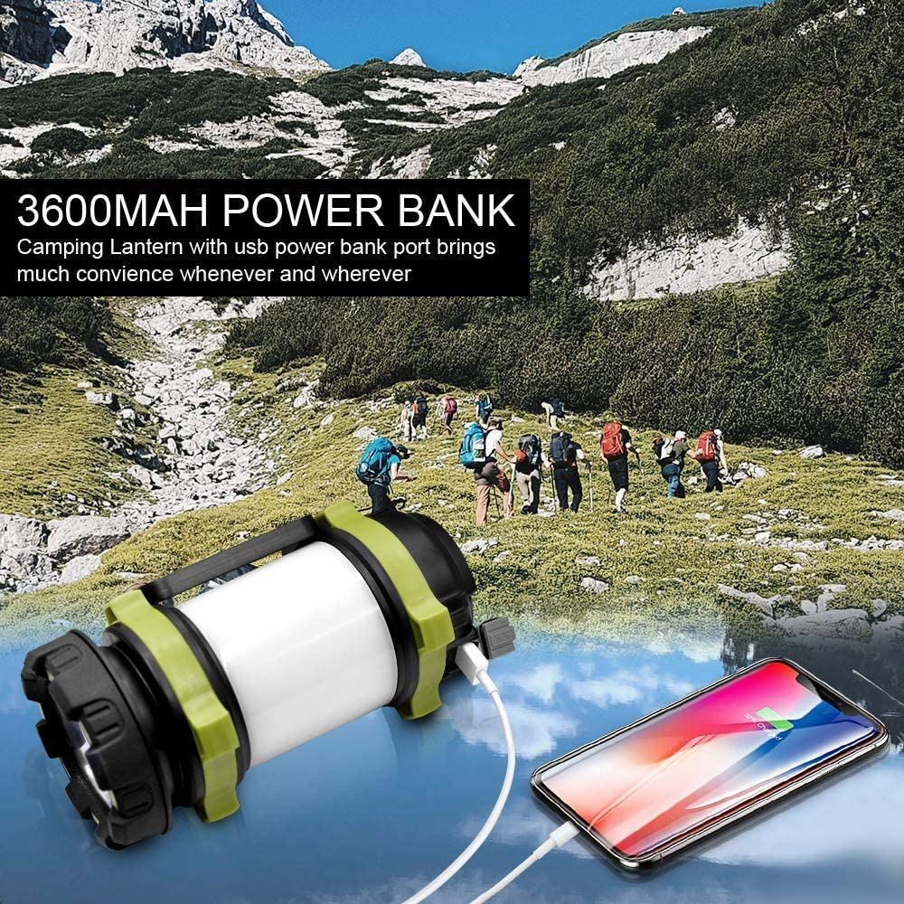 Rechargeable Camping Lantern Flashlight